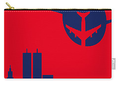 No219 My Escape From New York Minimal Movie Poster Carry-all Pouch by Chungkong Art