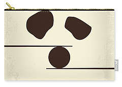 No227 My Kung Fu Panda Minimal Movie Poster Carry-all Pouch by Chungkong Art
