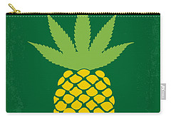 No264 My Pineapple Express Minimal Movie Poster Carry-all Pouch by Chungkong Art