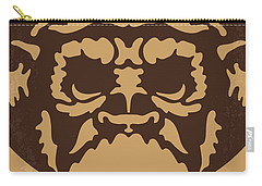 No270 My Planet Of The Apes Minimal Movie Poster Carry-all Pouch by Chungkong Art