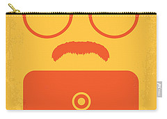 No372 My Her Minimal Movie Poster Carry-all Pouch by Chungkong Art