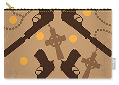 No419 My Boondock Saints Minimal Movie Poster Carry-all Pouch by Chungkong Art