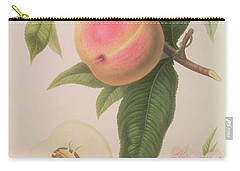 Noblesse Peach Carry-all Pouch by William Hooker