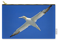 Northern Gannet Carry-all Pouch by Tony Beck
