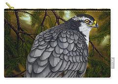 Northern Goshawk Carry-all Pouch by Rick Bainbridge