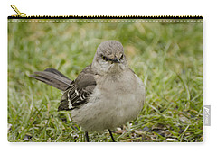 Northern Mockingbird Carry-all Pouch by Heather Applegate