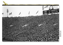 Notre Dame-usc Scoreboard Carry-all Pouch by Underwood Archives
