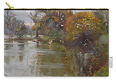 November 4th At Hyde Park Carry-all Pouch by Ylli Haruni