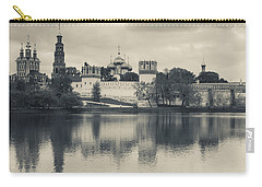 Novodevichy Monastery At Late Carry-all Pouch by Panoramic Images