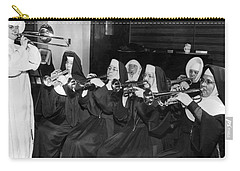 Nuns Rehearse For Concert Carry-all Pouch by Underwood Archives