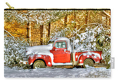 Old Red Carry-all Pouch by Benanne Stiens