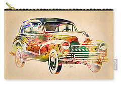 Old Volkswagen Carry-all Pouch by Mark Ashkenazi