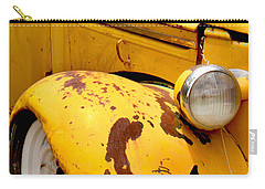 Old Yellow Truck Carry-all Pouch by Art Block Collections