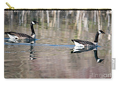 On Golden Pond Carry-all Pouch by Mike Dawson