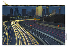 Oncoming Traffic Carry-all Pouch by Rick Berk