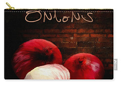 Onions II Carry-all Pouch by Lourry Legarde