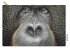 Orangutan Carry-all Pouch by Svetlana Sewell