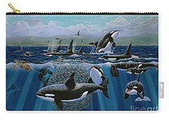 Orca Play Re009 Carry-all Pouch by Carey Chen