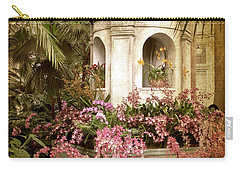 Orchid Exhibition Carry-all Pouch by Jessica Jenney
