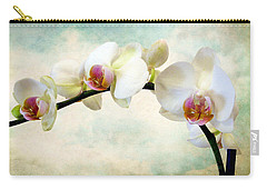 Orchid Heaven Carry-all Pouch by Jessica Jenney