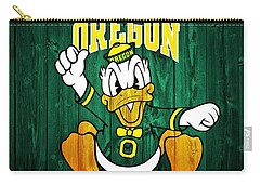 Oregon Ducks Barn Door Carry-all Pouch by Dan Sproul