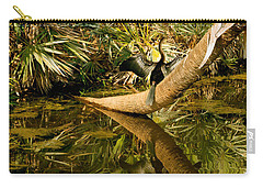 Oriental Darter Anhinga Melanogaster Carry-all Pouch by Panoramic Images