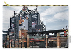 Oriole Park At Camden Yards Carry-all Pouch by Susan Candelario