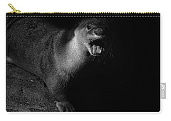 Otter Wars Carry-all Pouch by Martin Newman