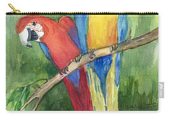 Out For Lunch In The Wild Carry-all Pouch by Maria Hunt
