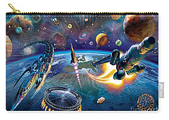 Outer Space Carry-all Pouch by Adrian Chesterman