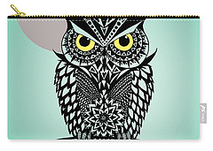 Owl 5 Carry-all Pouch by Mark Ashkenazi