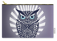Owl Carry-all Pouch by Mark Ashkenazi