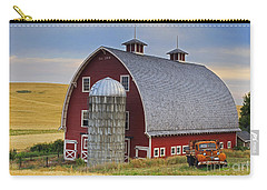 Palouse Barn - Est. 1919 Carry-all Pouch by Mark Kiver