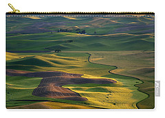 Palouse Shadows Carry-all Pouch by Mike  Dawson