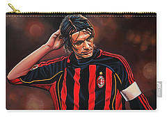 Paolo Maldini Carry-all Pouch by Paul Meijering