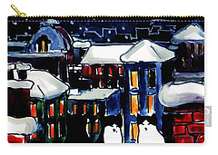 Paris Cats Carry-all Pouch by Mona Edulesco
