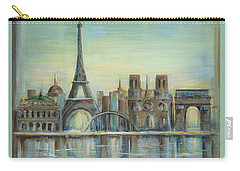 Paris Highlights Carry-all Pouch by Marilyn Dunlap