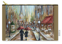 Paris Lovers Ill Carry-all Pouch by Marilyn Dunlap