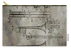 Patent Art Trombone Carry-all Pouch by Dan Sproul