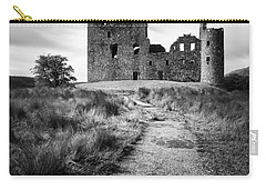 Path To Kilchurn Castle Carry-all Pouch by Dave Bowman