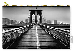 Path To The Big Apple Carry-all Pouch by Az Jackson