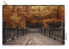 Path To The Wild Wood Carry-all Pouch by Scott Norris