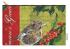 Peace On Earth 1 Carry-all Pouch by Debbie DeWitt