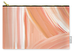 Peach Accent Carry-all Pouch by Lourry Legarde
