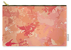 Peach Galore Carry-all Pouch by Lourry Legarde