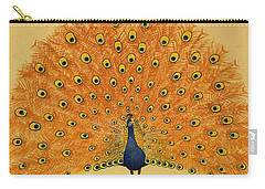Peacock Carry-all Pouch by English School