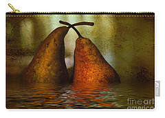 Pears In Water Carry-all Pouch by Kaye Menner