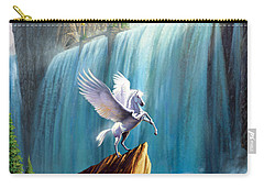 Pegasus Kingdom Carry-all Pouch by Garry Walton