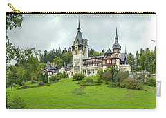 Peles Castle In The Carpathian Carry-all Pouch by Panoramic Images