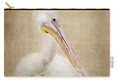 Pelican Primping Carry-all Pouch by Betty LaRue